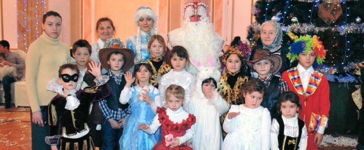 Ежегодная ёлка для детей от АО НК «КазМунайГаз»